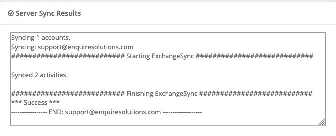 Exchange/Outlook Integration – Enquire CRM Help Center